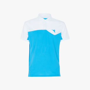 POLO COURT, FLUO AZUL, medium