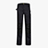 PANT. EASYWORK PERF. ISO 13688:2013, BLACK COAL, swatch