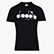 T-SHIRT SS BL, BLACK/OPTICAL WHITE, swatch