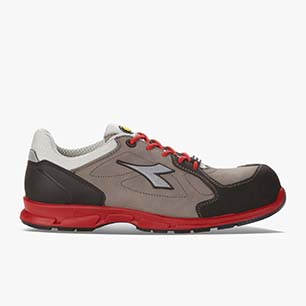 D-FLEX LOW S3 SRC, GRAU/RED, medium