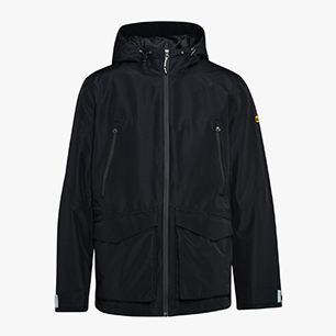 RAIN JKT TECH EN 343, BLACK, medium