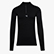 1/2 ZIP LS T-SHIRT ADV, BLACK, swatch