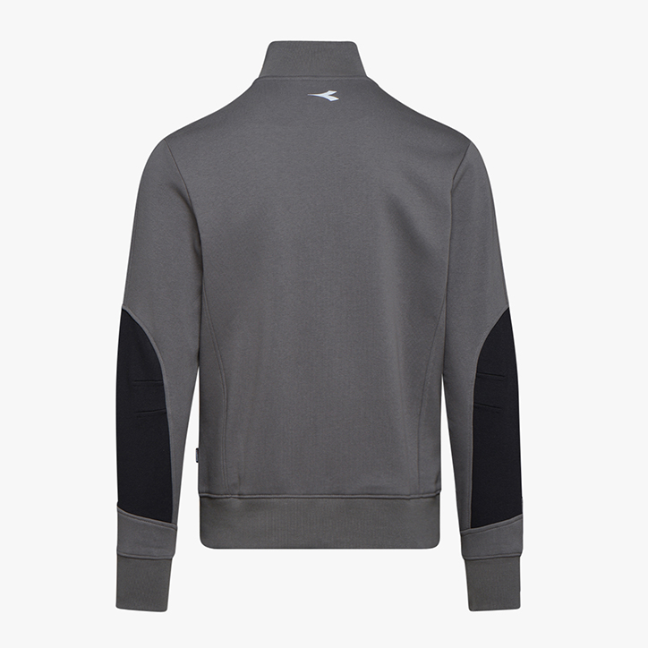 SWEATSHIRT FZ LITEWORK, STEEL GREY, large