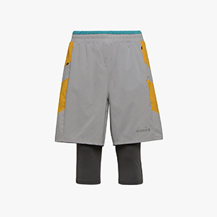 POWER SHORTS BE ONE, GRY QUIET SHADE/OYSTER MUSHROO, medium