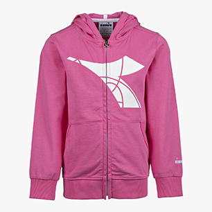 JU.HD FZ SWEAT FREGIO, PINK PASSION, medium