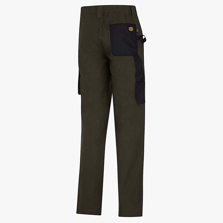 PANT STRETCH ISO 13688:2013, GREEN FOREST NIGHT, large