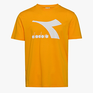 T-SHIRT SS BIG LOGO, YELLOW SAFFRON, medium