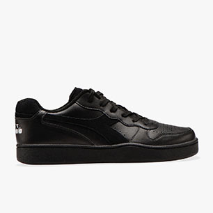 MI BASKET LOW, SCHWARZ, medium