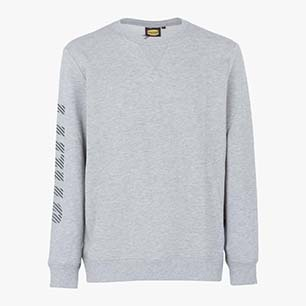 SWEATSHIRT FALCON, LIGHT MIDDLE GREY MELANGE , medium