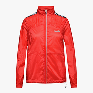 L. LIGHTWEIGHT WIND JACKET, LIVELY HIBISCUS RED, medium