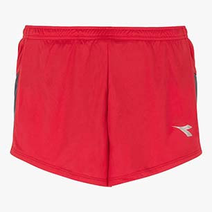 RACE SHORTS TEAM, TOMATO RED, medium