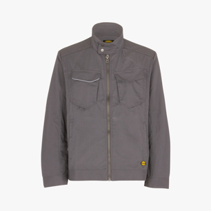 WW JACKET POLY, STEEL GREY, medium