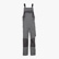 BIB OVERALL POLY, STEEL GREY, swatch