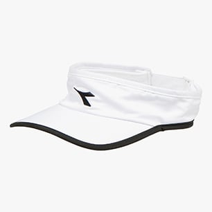 VISOR, BLANCO/NEGRO, medium