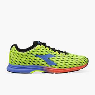 MYTHOS FAST RACER, FLUO YELLOW DD/AMPARO BLUE, medium