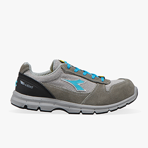 RUN II TEXT ESD LOW S1P SRC ESD, CASTLEROCK/SCUBA BLUE, medium