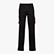 PANT STRETCH CARGO, BLACK, swatch