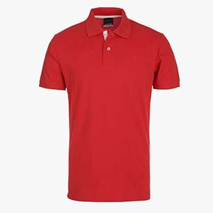 POLO PQ, TOMATO RED, medium