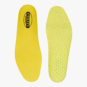 INSOLE RUN PU FOAM, YELLOW UTILITY/YELLOW UTILITY, medium