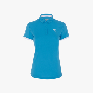 L. POLO COURT, AZZURRO FLUO, medium