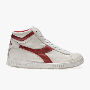 GAME L HIGH WAXED, WHITE/RED PEPPER, medium