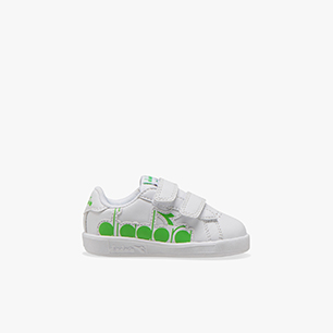 GAME P BOLDER TD, WHITE/GREEN EVIDENCE, medium