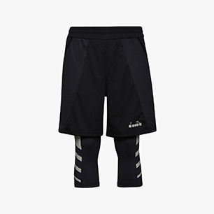 POWER SHORTS BE ONE, NEGRO, medium