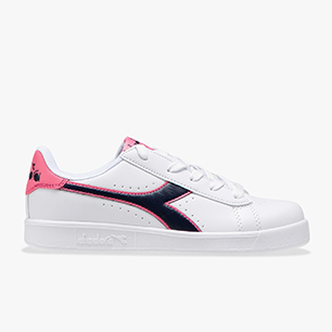 GAME P GS, WHITE/BLACK IRIS/PINK PASSION, medium