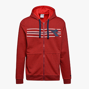HD FZ SWEAT FREGIO, DARK RED, medium