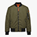 BOMBER JACKET INSIDEOUT, GREEN RAGE, swatch