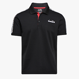 POLO STATEMENT SS, BLACK, medium