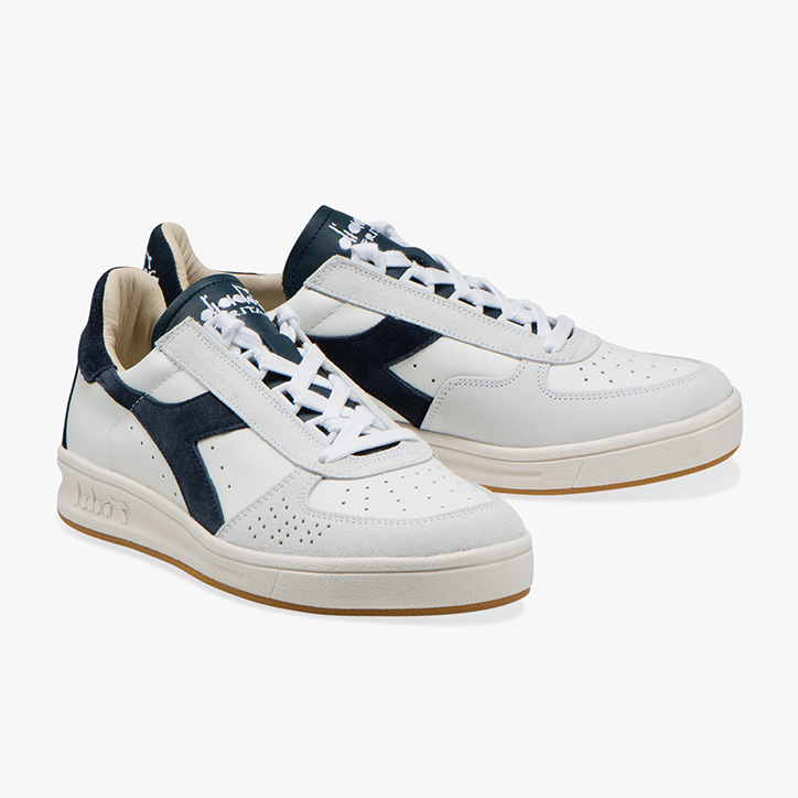 B.ELITE S L, WHITE/BLUE DENIM, large