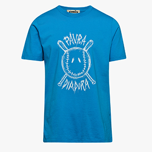 PAURA LOGO T-SHIRT, SKY-BLUE VIVID, medium
