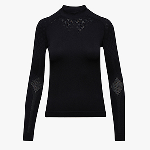 L. TURTLE NECK ACT, SCHWARZ, medium