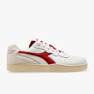 MI BASKET LOW PAURA, WHITE/TRUE RED, medium