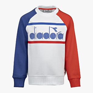 JB.CREWNECK SWEAT 5 PALLE, OPTICAL WHITE, medium