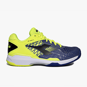 SPEED COMPETITION 5 + CLAY, FLUO YELLOW DD/ROYAL BLUE/BLK, medium
