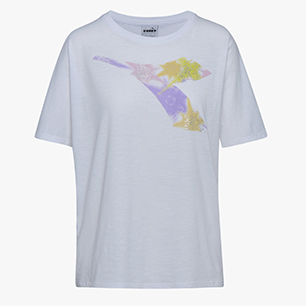 L.SS T-SHIRT  FREGIO, OPTICAL WHITE, medium