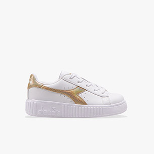 GAME STEP PS, WHITE/GOLD, medium