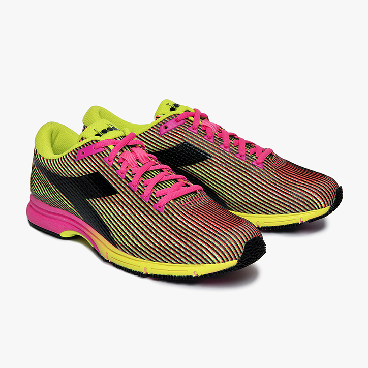 MYTHOS FAST RACER 2, YELLOW FLUO/PINK FLUO, large