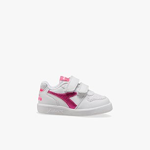 PLAYGROUND TD GIRL, WHITE/PINK FLUO, medium
