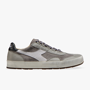 B.ORIGINAL H SUEDE STONE WASH, RAIN GRAY/WHITE, medium