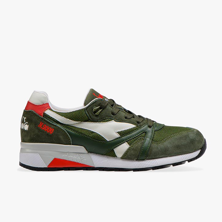 N9000 H MESH ITALIA, GREEN RIFLE, large