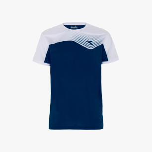 T-SHIRT COURT, SALTIRE NAVY, medium