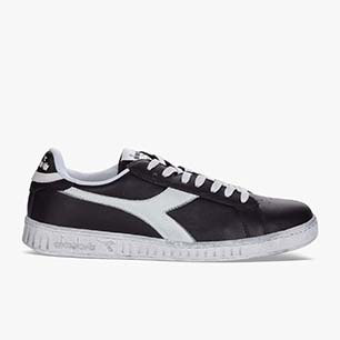 GAME L LOW WAXED, NEGRO/BLANCO, medium