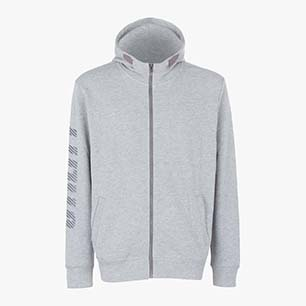SWEATSHIRT THUNDER II, LIGHT MIDDLE GREY MELANGE , medium