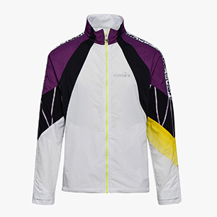 JACKET BE ONE, BRIGHT WHITE/PURPLE MAGIC, medium