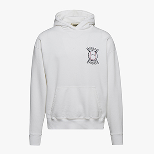 PAURA LOGO HOODIE, OPTICAL WHITE, medium