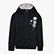 G.HD FZ SWEAT 5 PALLE, BLACK, swatch