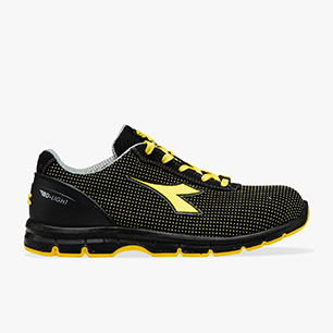 RUN ATOM LOW S3 SRC ESD, BLACK /YELLOW CROMS, medium